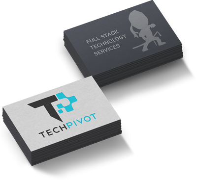 TechPivot Business Cards - Branding