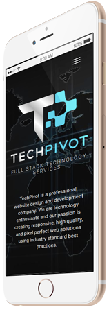 Responsive TechPivot Layout on Iphone